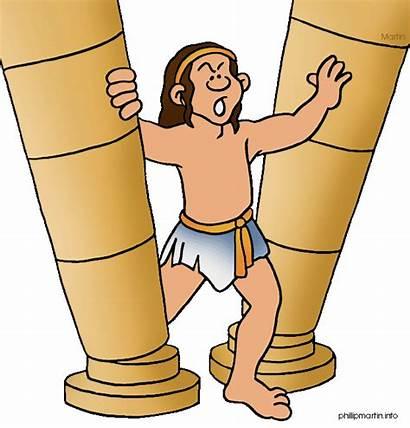 Samson Samuel Jephthah Prophets Bible Judges Clip