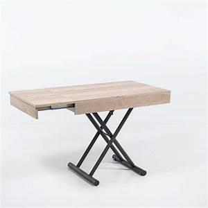 Pied De Table Reglable : table r glable en hauteur et extensible en m lamin ~ Edinachiropracticcenter.com Idées de Décoration