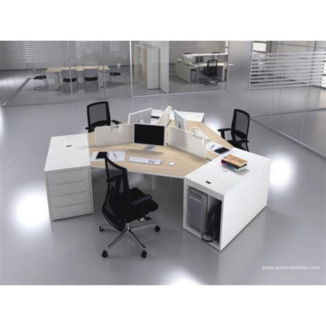 fabricant canape italien bureau opératif 120 degrés logic bois naturel et blanc