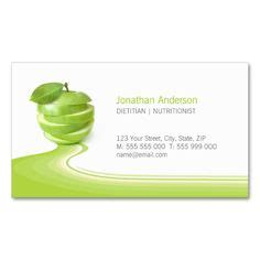 health nutrition business cards images