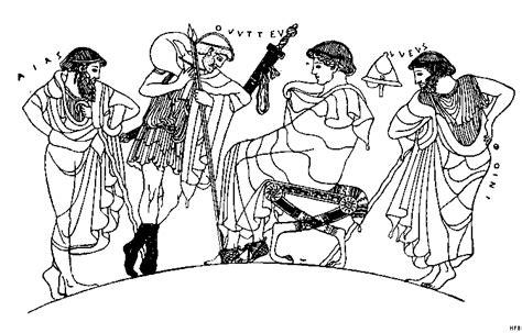 griechische malerei ausmalbild malvorlage sonstiges