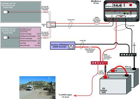 Solar L Wiring by Newbie Solar Truck Cer Setup Northernarizona Windandsun