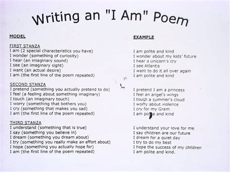 i am from poem template i am poem elsa support