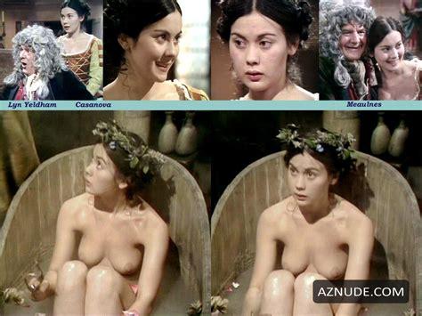 Zienia Merton  nackt