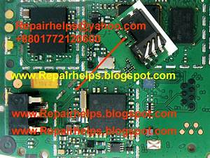 Repair Helps  Nokia 1202 Charging Jumper