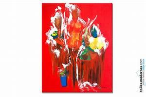 Tableau Moderne Coloré : tableau nu color d lices du bain moderne ~ Teatrodelosmanantiales.com Idées de Décoration