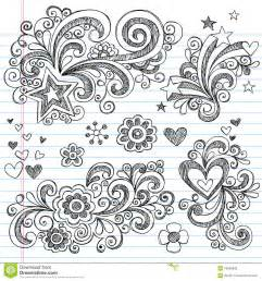 Doodle Designs and Patterns Hearts