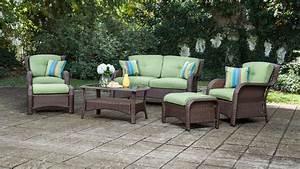 Sawyer 6pc Resin Wicker Patio Furniture Conversation Set
