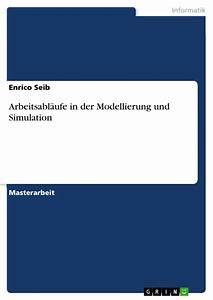 Arbeitsabl U00e4ufe In Der Modellierung Und Simulation