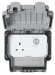 Mk K56487gry Key Operated Switch Socket