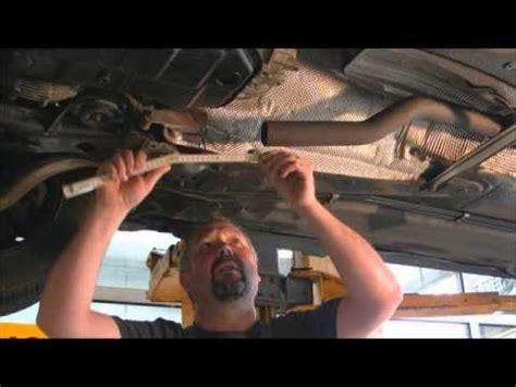katalysator wechseln anleitung reparatur loch in den auspuff flexrohr ohne demontage