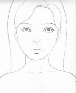 Simple Drawings Faces How To Draw An Easy Face, Stepstep ...