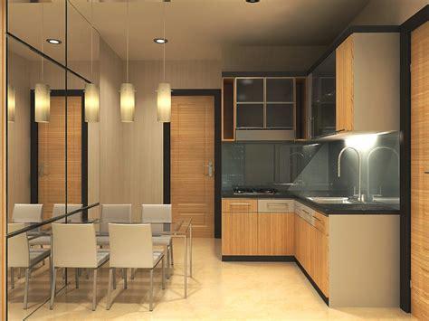 desain interior dapur rumah minimalis modern terbaru