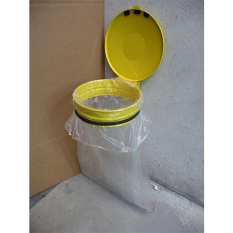 support sac poubelle de 80 224 110l mural avec couvercle supports sacs poubelles ext 233 rieurs