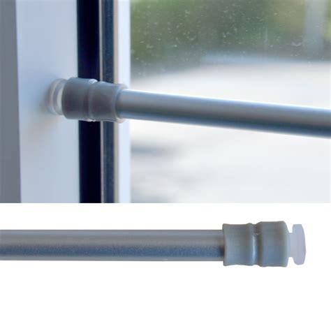 fenster gardinenstange ohne bohren gardinen klemmstange gardinenstange scheibenstange ohne bohren teleskop fenster ebay