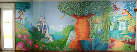 fresque murale chambre b fresque chambre enfant ii by djoz on deviantart