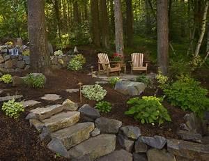 les 25 meilleures idees de la categorie paillage bois sur With amenagement petit jardin avec terrasse et piscine 2 amenagement paysager moderne 25 idees par studio h