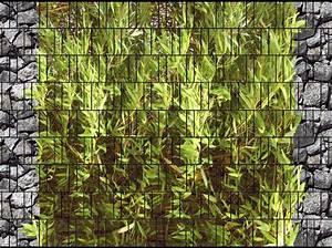 Doppelstabmattenzaun Sichtschutz Motiv : bambus bruchstein doppelstabmatten sichtschutzstreifen ~ A.2002-acura-tl-radio.info Haus und Dekorationen