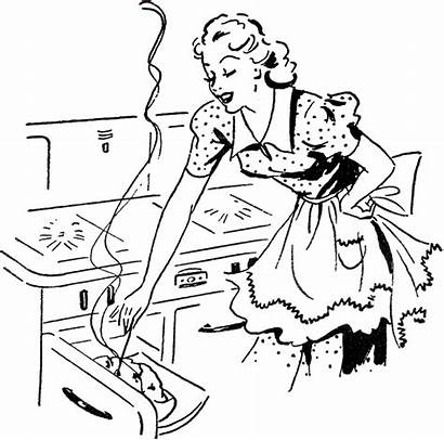 Cooking Mom Retro Adorable Graphics