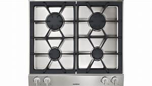 Vario Gas Cooktop 200 Series Stainless Steel Control Panel