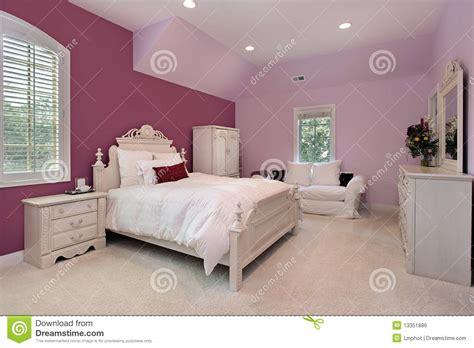 la chambre la chambre à coucher de la fille dans la maison de