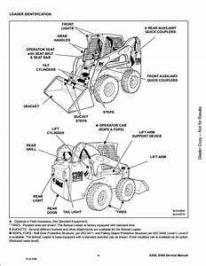 Bobcat S250 S300 Skid Steer Loader Service Repair Workshop Manual A5gm20001