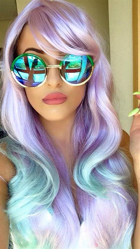 mermaid inspired hairstyles    check