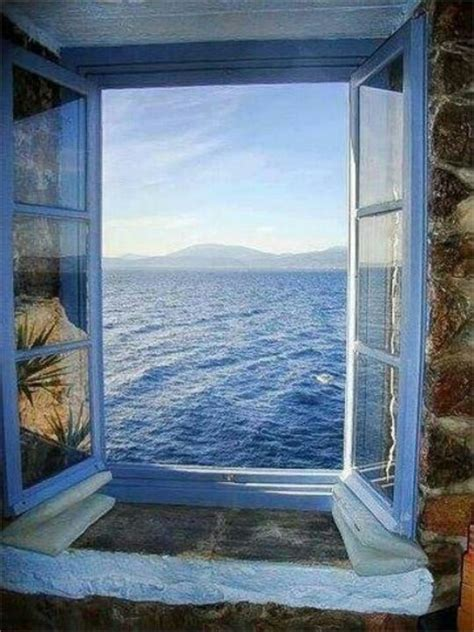 Ocean View Santorini Greece Summertime Pinterest