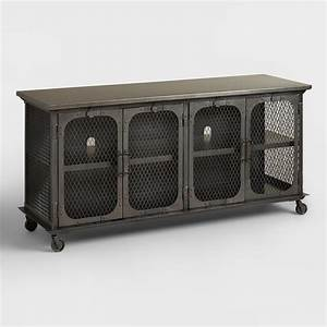 Metal Bexley Storage Cabinet World Market