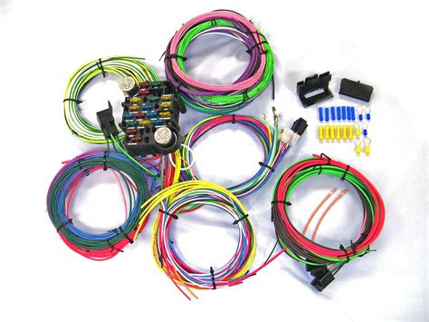 1965 Chevy Truck Wiring Harnes by Universal Gearhead 1964 1965 1966 Ford Mustang Wire Wiring