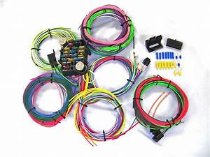 Universal Gearhead 1964 1965 1966 Ford Mustang Wire Wiring Harness Kit Usa Made