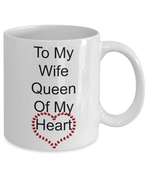 I've sifted through those and can't decide. Excited to share the latest addition to my #etsy shop: Valentine Coffee Mug-To My Wife Queen Of ...
