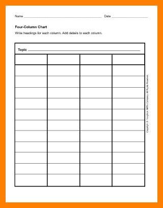 column ledger template ledger review