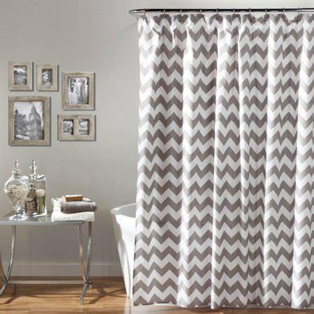 gray chevron curtains chevron shower curtain gray white walmart