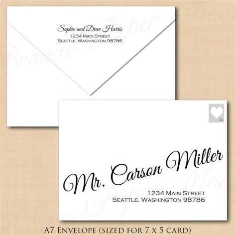 change  colors calligraphy address wedding envelope
