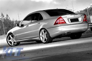 Mercedes Benz W203 Tuning : side skirts mercedes benz w203 c class 2001 2007 amg design ~ Jslefanu.com Haus und Dekorationen