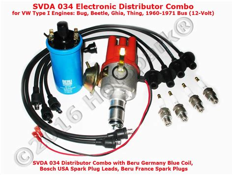 Svda 034 Electronic Distributor For Vw