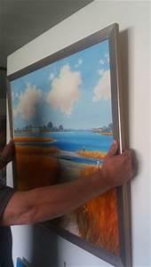 Bild Aufhängen Ohne Bohren : profianleitung leinwandbild ohne bohren aufh ngen galerie munk original lgem lde ~ Bigdaddyawards.com Haus und Dekorationen