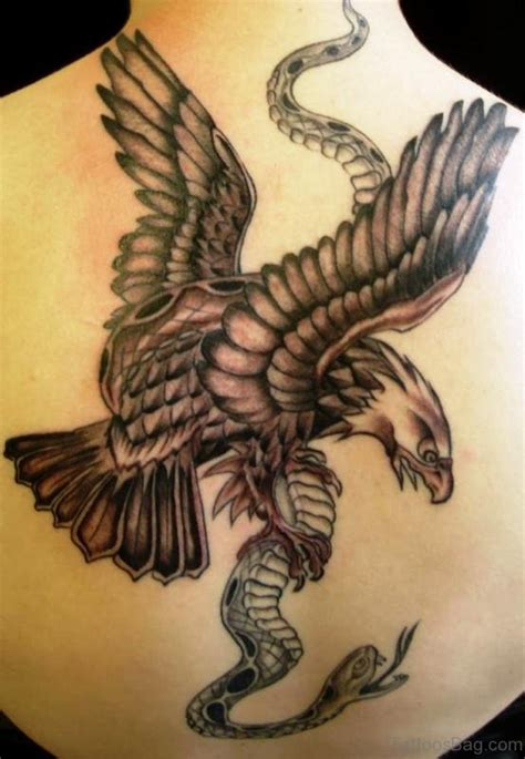 traditional eagle tattoos  neck