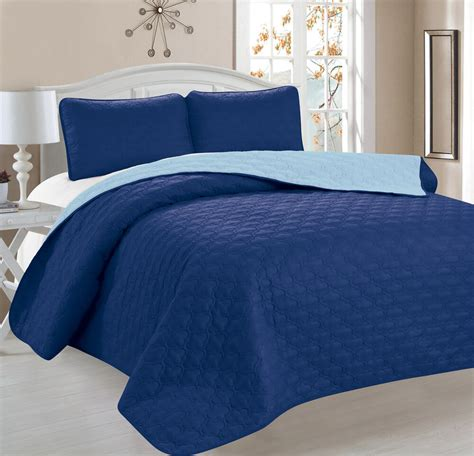 Coverlet Size by 3 Pcs Bedspread Quilt Set Coverlet And 2 Pillow Shams
