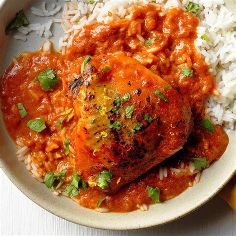 1 1/4 pounds boneless skinless chicken breasts, thighs, or a mix. Slow-Cooker Chicken Tikka Masala Recipe: How to Make It ...