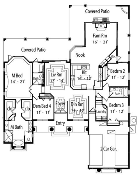 Violeta 5495  4 Bedrooms And 35 Baths  The House Designers