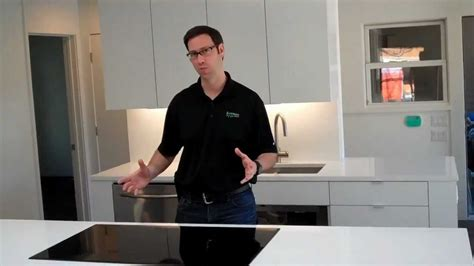 Kitchen Range With Downdraft Ventilation by Venting For A Kitchen Aid Induction Cooktop Youtube