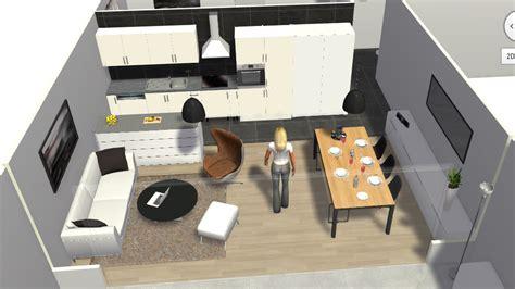 salon cuisine 30m2 je cherche à mieux séparer salle à manger et