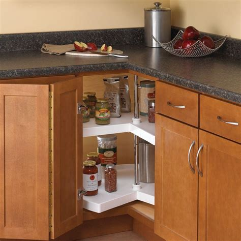 lazy susans for kitchen cabinets real solutions for real 32 in h x 28 in w x 28 in 8926