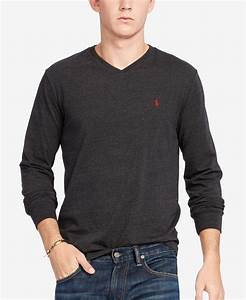 Polo V : polo ralph lauren men 39 s v neck long sleeve cotton shirt ralph lauren shops and polos ~ Gottalentnigeria.com Avis de Voitures