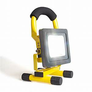 Morpilot? w led rechargeable portable work light flood