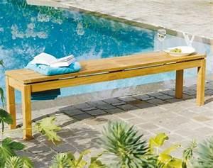 Banc En Bois Pas Cher : voici nos exemples pour un banc de jardin ~ Preciouscoupons.com Idées de Décoration