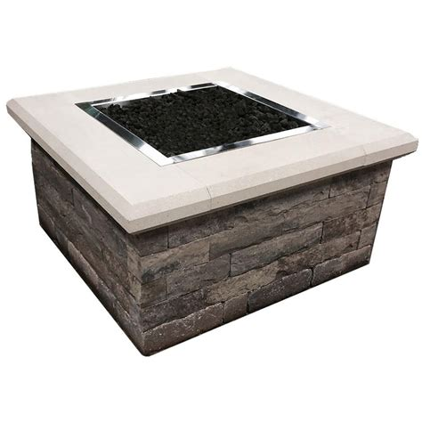 oldcastle 24 in x 44 in x 44 in gas table 70582040 the home depot