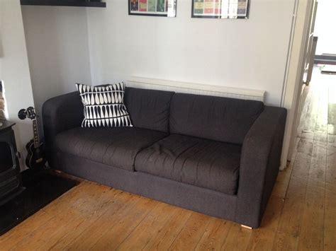 habitat futon habitat porto sofa sofa bed great condition charcoal in